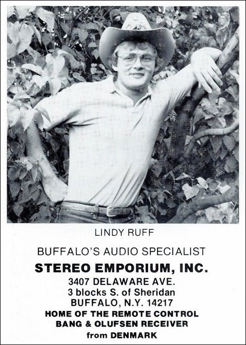 Lindy Ruff, Audiophile