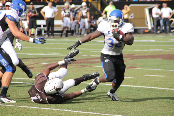 UB's all-time leading rusher Branden Oliver has   rushed for 650 yards and 7 TDs over his last 3 games.