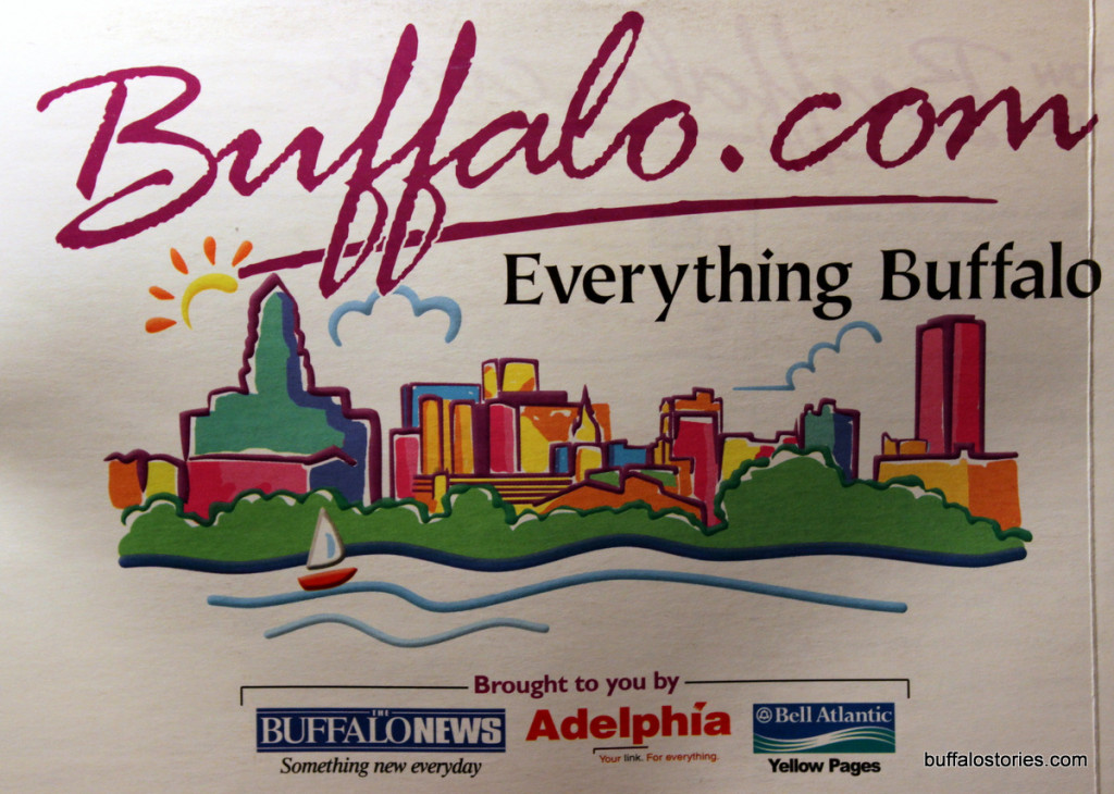 Some how, buffalo.com's 1999 ad looks like it's from 1989. RIP Adelphia and Bell Atlantic.