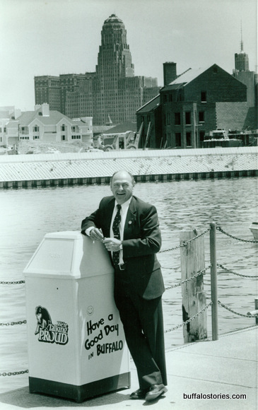 Jim Griffin's leadership spawned waterfront construction...