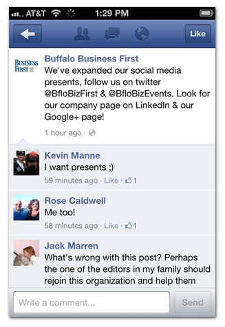 Business First has social media presents for YOU!