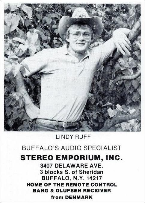 Lindy Ruff, Audiophile
