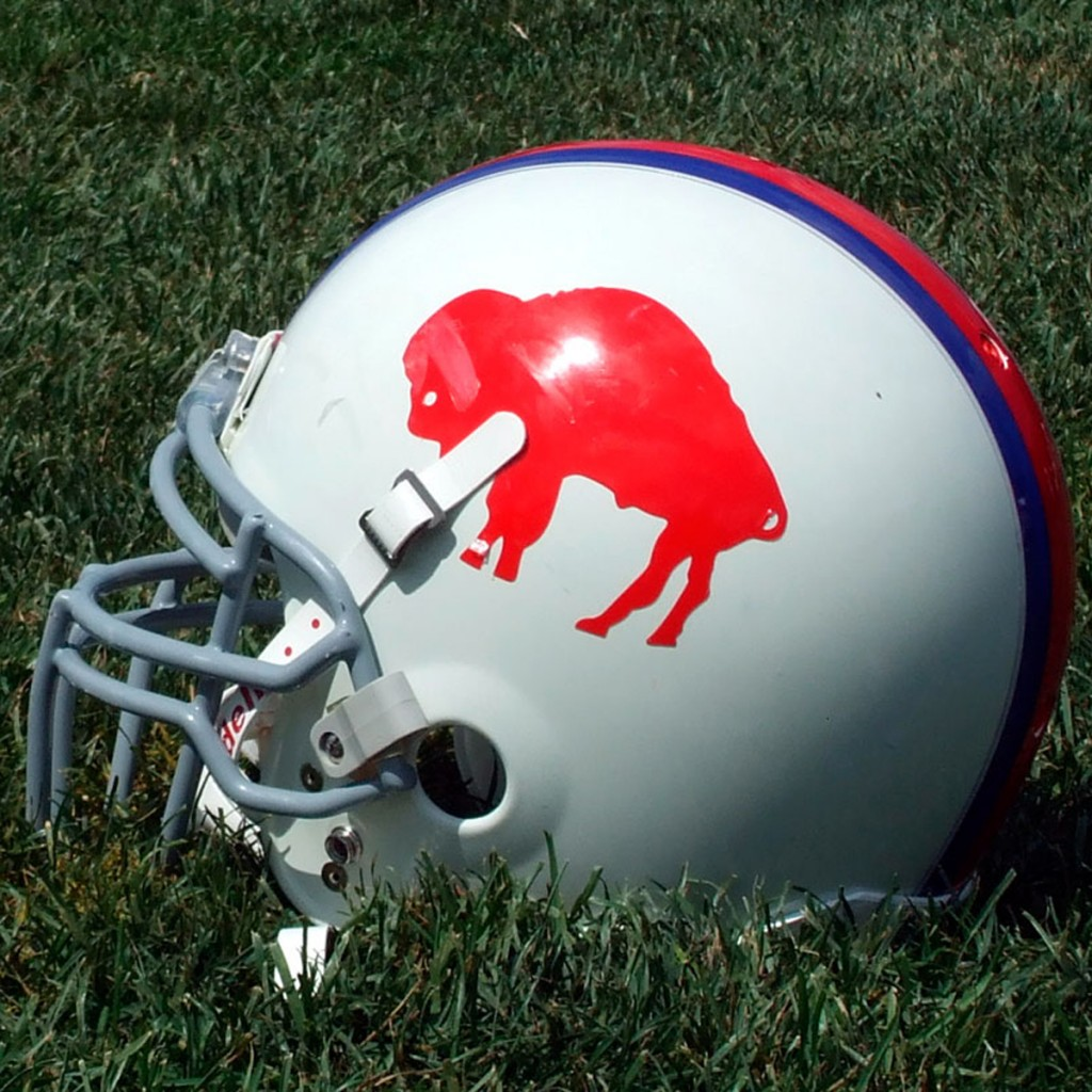 bills helmet- 4in x 4in