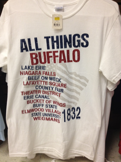 various colors 60ac3 8c8ca Buffalo T-shirt Fail at Wegmans – Trending Buffalo