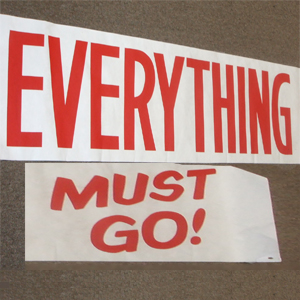 everything must go2