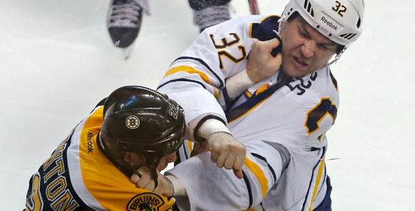 John Scott concussed Scott Thornton