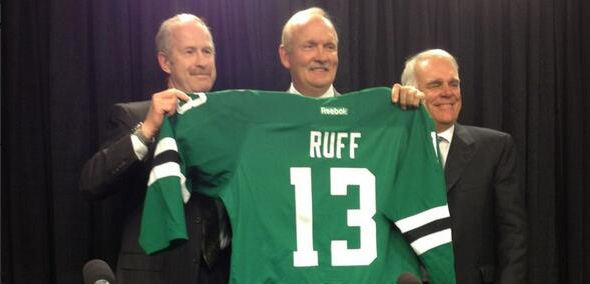 Ruff hired by Stars