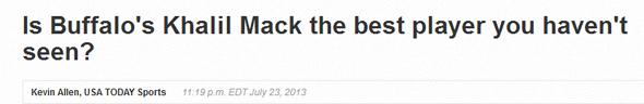 mack headline