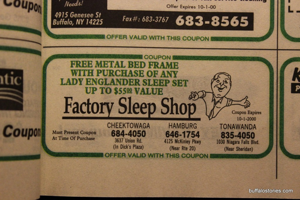 Remember Jim Pachiole screaming at us about Factory Sleep Shop?
