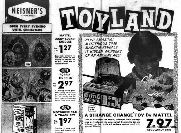 Was this toy at Neisner's a result of early LSD experimentation?