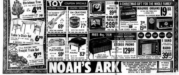 Great stuff from Noah's Ark