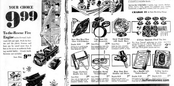 Toys from Sears...