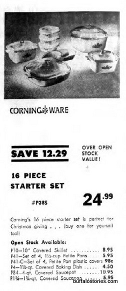 Classic Corningware from AM&As