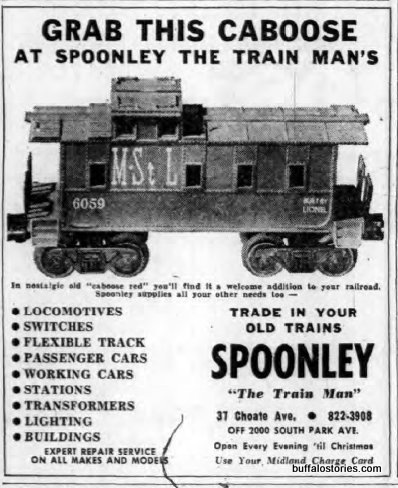 A South Buffalo insitution: Spoonley the Train Man