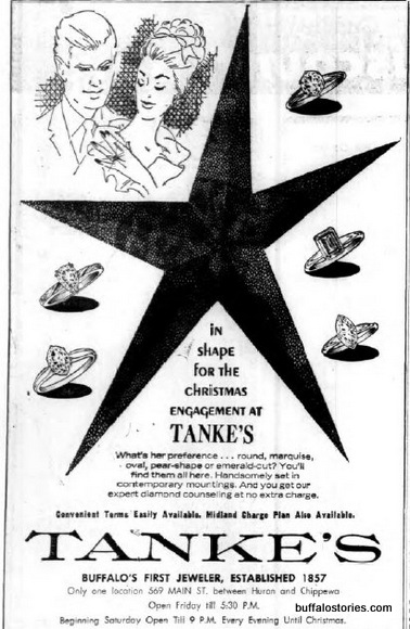 Tanke's rhymes with Swanky's. Very posh.