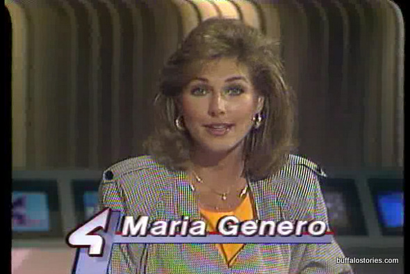 Maria Genero is one of a vaunted few-- She's worked at 2,4, & 7. She did weather on Channel 4 in the mid 80s.