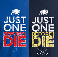 Please, just one championship before I die? A Super Bowl, a Stanley Cup, a World Series... anything!