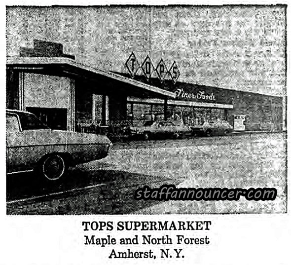 Tops, Maple at North Forest. Was VIX, now vacant.