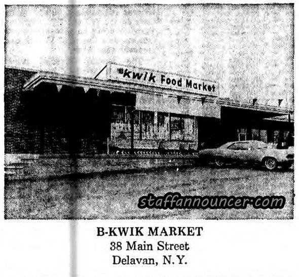 B-kwik Main St, Delevan NY