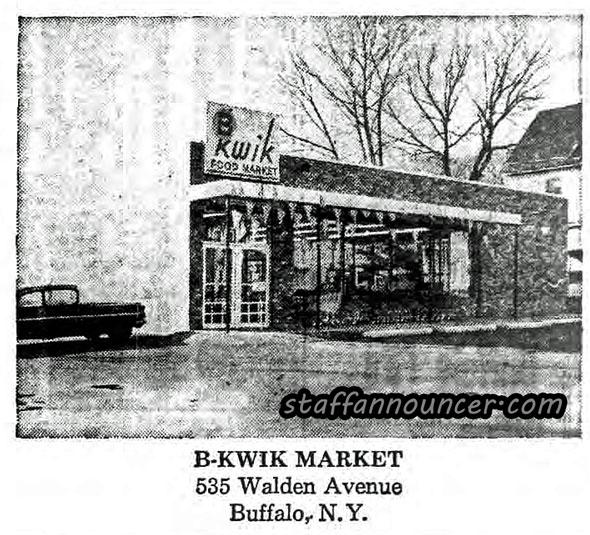 B-kwik, Walden Avenue, Buffalo