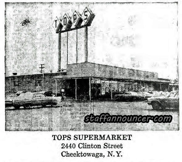 Tops, Clinton Street, Cheektowaga. Current site of Consumers' Beverage